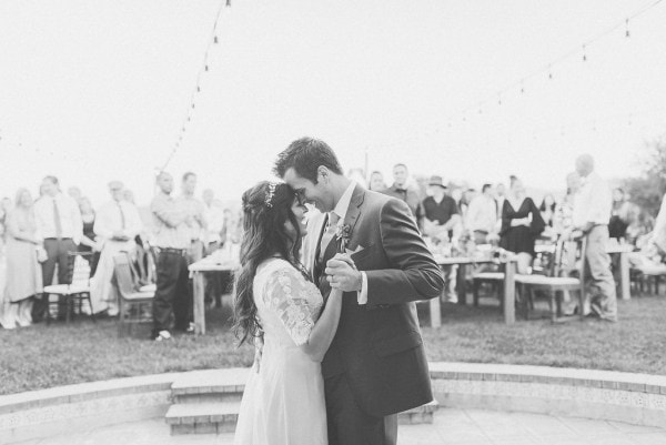Our couples' first dance to Turn Around! Photo by Plum Jam Photography