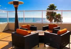 Rooftop is lovely for daytime or evening events with full ocean views
