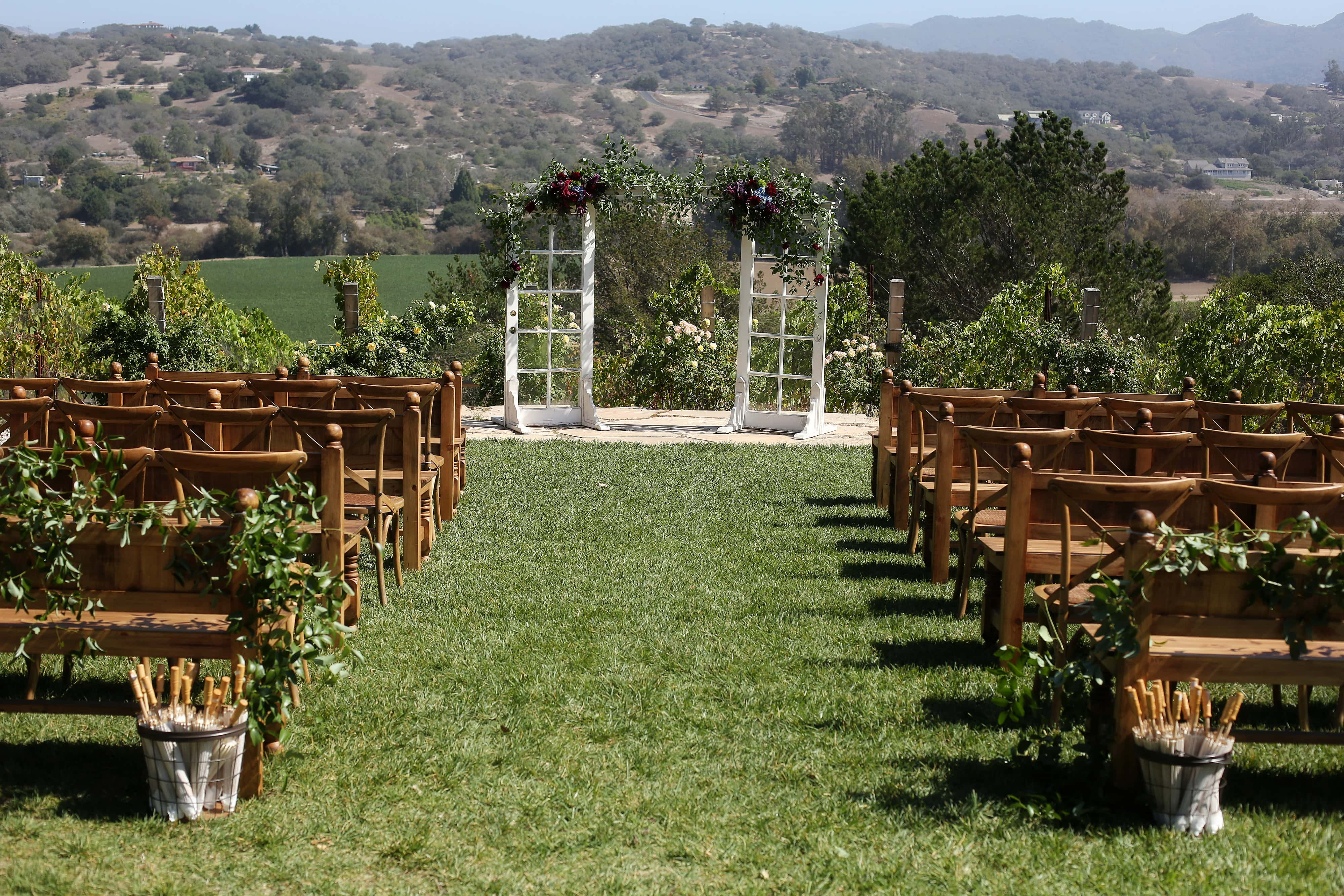 The Casitas Estate Ceremony Vineyard, San Luis Obispo