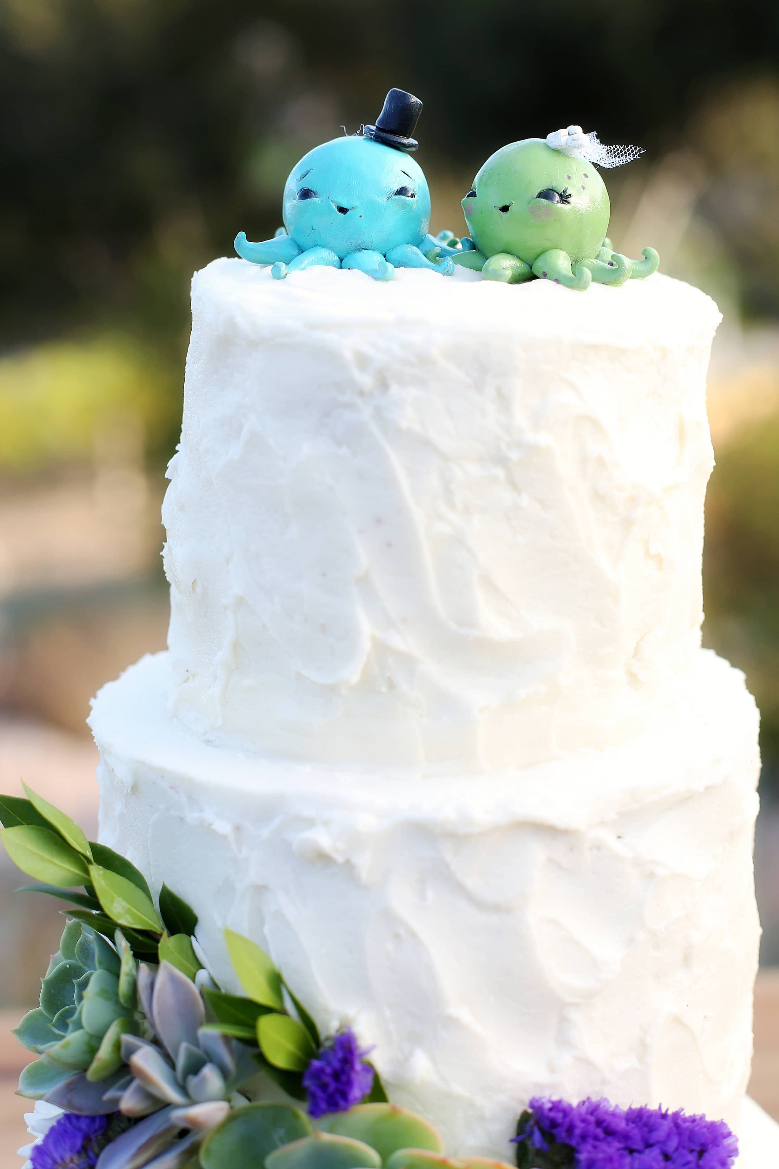The Casitas Estate octopus wedding cake